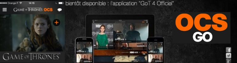 Orange Game of thrones app