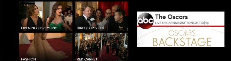 ABC Oscars Backstage app