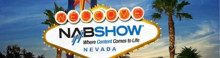 NAB show Vegas banner