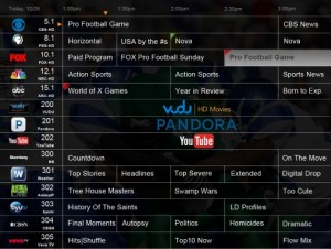 DVR+ EPG with OTT Content