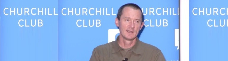Netflix Neil Hunter at Churchill Club