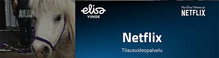 Netlfix on Elisa TV