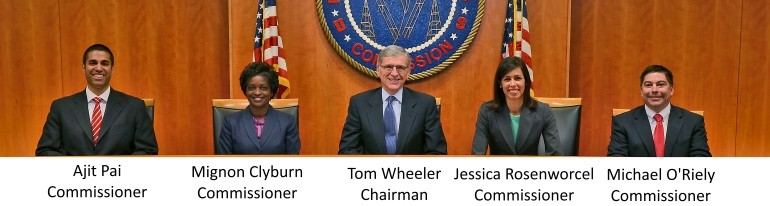 FCC commissioners 2015