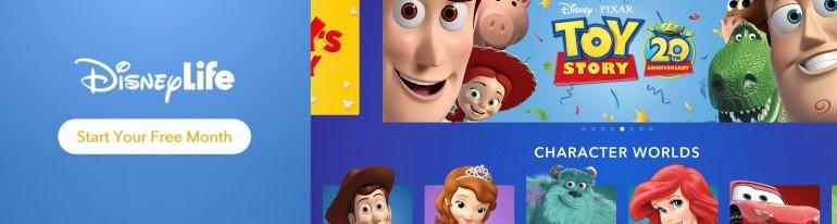DisneyLife ott video apps