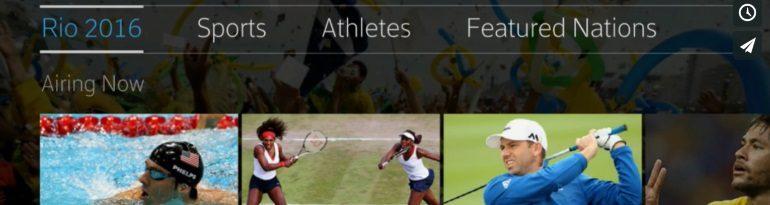X1 Rio Olympics