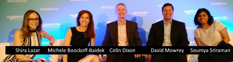 Data panel at NAB 2017