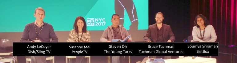 TVOT NYC 2017 Emerging OTT Ecosystem splash