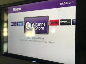 The original Roku interface