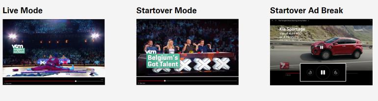 live start over start over ad break